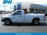 2008 Bright White Dodge Ram 1500 ST Regular Cab #10229160