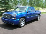 2003 Arrival Blue Metallic Chevrolet Silverado 1500 SS Extended Cab AWD #102343350
