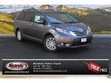 2015 Predawn Gray Mica Toyota Sienna Limited AWD #102342845