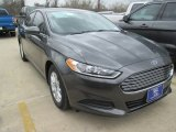2015 Magnetic Metallic Ford Fusion S #102342913