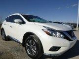 2015 Pearl White Nissan Murano SL AWD #102343250