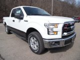 Oxford White Ford F150 in 2015