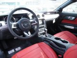 2015 Ford Mustang GT Premium Coupe Red Line Interior