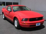 2007 Torch Red Ford Mustang V6 Premium Coupe #10229176