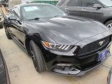 2015 Black Ford Mustang EcoBoost Coupe #102378584
