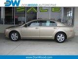 2008 Sandstone Metallic Chevrolet Malibu LS Sedan #10229140