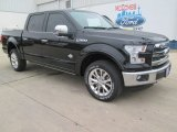 2015 Tuxedo Black Metallic Ford F150 King Ranch SuperCrew 4x4 #102378576