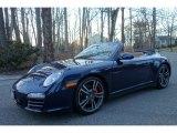 2012 Dark Blue Metallic Porsche 911 Carrera 4S Cabriolet #102378569