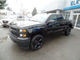 2015 Chevrolet Silverado 1500 WT Crew Cab 4x4 Black Out Edition Front 3/4 View