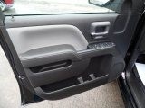 2015 Chevrolet Silverado 1500 WT Crew Cab 4x4 Black Out Edition Door Panel