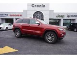 2014 Deep Cherry Red Crystal Pearl Jeep Grand Cherokee Limited #102378765