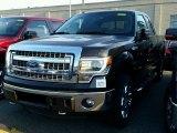 2014 Tuxedo Black Ford F150 XLT SuperCab 4x4 #102412084