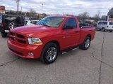 2012 Flame Red Dodge Ram 1500 Express Regular Cab 4x4 #102439343