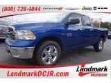 2015 Blue Streak Pearl Ram 1500 Big Horn Quad Cab 4x4 #102439149