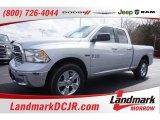 2015 Bright Silver Metallic Ram 1500 Big Horn Quad Cab #102439141