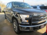 2015 Tuxedo Black Metallic Ford F150 Lariat SuperCrew 4x4 #102439095