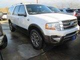 2015 White Platinum Metallic Tri-Coat Ford Expedition EL King Ranch #102439094