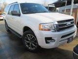 2015 White Platinum Metallic Tri-Coat Ford Expedition EL XLT #102439086
