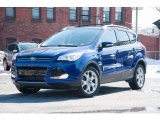 2014 Deep Impact Blue Ford Escape Titanium 2.0L EcoBoost 4WD #102439199