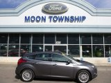2014 Sterling Gray Ford Focus Titanium Hatchback #102469656
