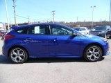 2015 Performance Blue Ford Focus ST Hatchback #102469575
