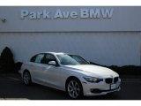 2015 Mineral White Metallic BMW 3 Series 328i xDrive Sedan #102469509