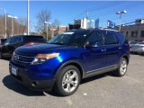 2013 Deep Impact Blue Metallic Ford Explorer Limited 4WD #102469943