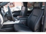 2015 Ford F150 Lariat SuperCab 4x4 Front Seat