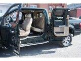 2015 Ford F150 Lariat SuperCab 4x4 Medium Light Camel Interior