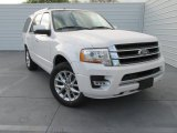 2015 White Platinum Metallic Tri-Coat Ford Expedition Limited #102469706