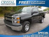 2014 Black Chevrolet Silverado 1500 WT Regular Cab #102509601