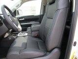 2015 Toyota Tundra Limited CrewMax Black Interior