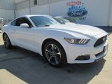 2015 Oxford White Ford Mustang V6 Coupe #102552244