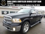 2015 Black Ram 1500 Laramie Long Horn Crew Cab 4x4 #102552310