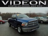 2011 Deep Water Blue Pearl Dodge Ram 1500 ST Quad Cab 4x4 #102552645