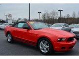 2011 Race Red Ford Mustang V6 Convertible #102552329
