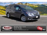 2015 Predawn Gray Mica Toyota Sienna Limited AWD #102552161