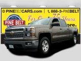 2015 Brownstone Metallic Chevrolet Silverado 1500 LT Crew Cab 4x4 #102584497