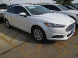 2015 Oxford White Ford Fusion S #102584574