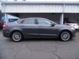 2015 Magnetic Metallic Ford Fusion Titanium #102584649