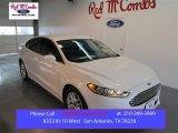 2015 White Platinum Metallic Ford Fusion SE #102584564