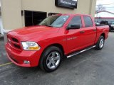 2012 Flame Red Dodge Ram 1500 ST Crew Cab 4x4 #102584921