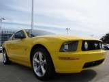 2006 Screaming Yellow Ford Mustang GT Premium Coupe #10247493