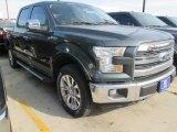 2015 Guard Metallic Ford F150 Lariat SuperCrew 4x4 #102584583