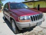 2002 Dark Garnet Red Pearlcoat Jeep Grand Cherokee Laredo #102619979