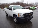 2009 Summit White Chevrolet Silverado 1500 Regular Cab 4x4 #102620051