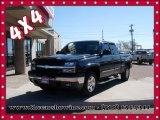 2005 Black Chevrolet Silverado 1500 LS Extended Cab 4x4 #102619954
