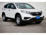 2015 White Diamond Pearl Honda CR-V LX AWD #102637508