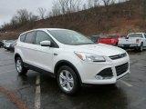 2015 White Platinum Metallic Tri-Coat Ford Escape SE 4WD #102637467