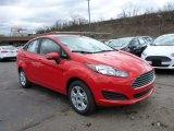 2015 Race Red Ford Fiesta SE Sedan #102644415